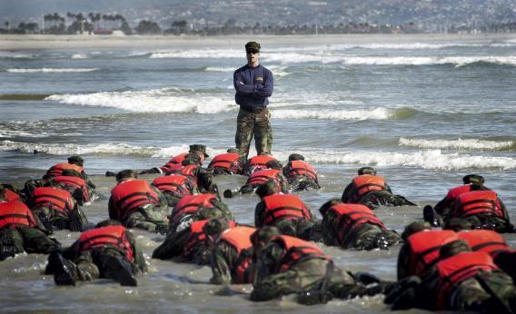 Woman Navy SEAL